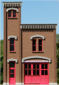 HO-SCALE FIREHOUSE #3 NPR