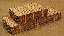 HO SCALE LUMBER LOAD
