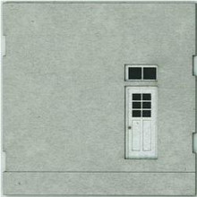 HO-SCALE: FACE (BLANK-DOOR) CONCRETE 4-PACK