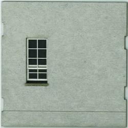 HO-SCALE: FACE (WINDOW-BLANK) CONCRETE 4-PACK