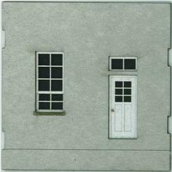 HO-SCALE: FACE (WINDOW-DOOR) CONCRETE 4-PACK