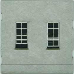 HO-SCALE; FACE (WINDOW-WINDOW) CONCRETE 4-PACK