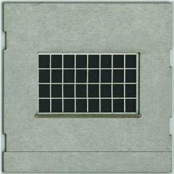 HO-SCALE: FACE (INDUSTRY WINDOW) CONCRETE 4-PACK