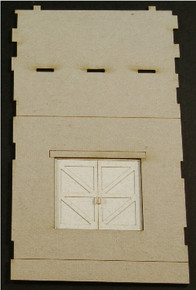 HO-SCALE: FACE (PASS THROUGH-DOOR) CONCRETE 1-SET