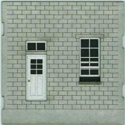 HO-SCALE: FACE (DOOR-WINDOW) CINDER BLOCK 4-PACK