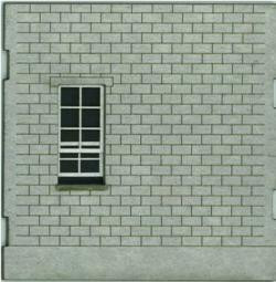 HO-SCALE: FACE (WINDOW-BLANK) CINDER BLOCK 4-PACK