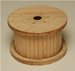 HO-SCALE CABLE REELS (LOADED) 3-PK