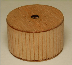 HO-SCALE CABLE REELS (COVERED) 3-PK