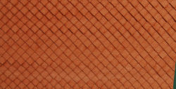 HO-SCALE ROOF SHINGLES DIAMOND (BROWN)