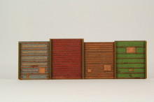 HO SCALE FREIGHT DOOR WALL