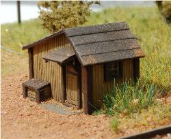 N-SCALE TOOL SHED