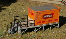 N-SCALE CLASSIC METAL WORKS (COLD STORAGE PLATFORM)