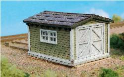 N-SCALE SPEEDER SHED