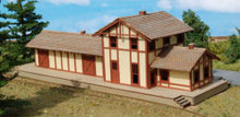 N-SCALE FREIGHT DEPOT (TRUSSED)