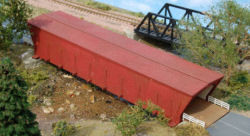 N-SCALE COVERED BRIDGE