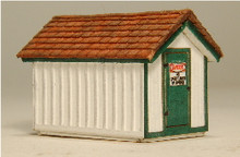 N-SCALE GAS HOUSE