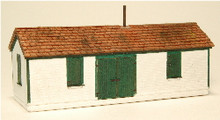 N-SCALE SHIM SHED