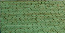 N-SCALE ROOF SHINGLES 3-TAB (GREEN)