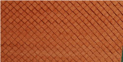 N-SCALE ROOF SHINGLES DIAMOND (BROWN)