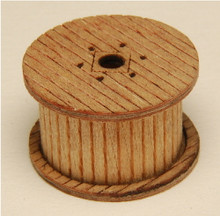 N-SCALE CABLE REELS (LOADED) 6-PK