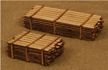N-SCALE LUMBER LOAD 2-PK 013312