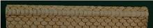 N-SCALE ROOF SHINGLES SCALLOPED RIDGE CAP (WHITE)