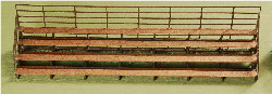 N-SCALE BLEACHERS 2-PK
