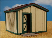 O-SCALE STORAGE SHED
