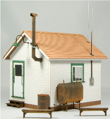 O-SCALE WEST END SHACK