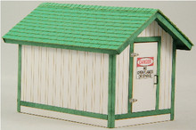 O-SCALE GAS HOUSE
