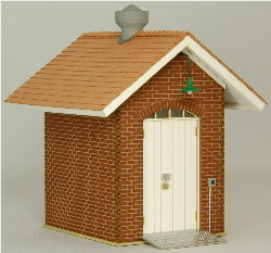 O-SCALE OIL SHED