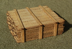 O-SCALE LUMBER LOAD 1-8'