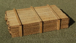 O-SCALE LUMBER LOAD 1-10'