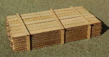 O-SCALE LUMBER LOAD 1-12'