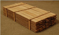 O-SCALE LUMBER LOAD 1-20'