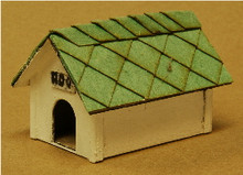 S-SCALE DOG HOUSE 2-PK