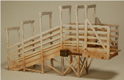 S-SCALE STOCK LOADING RAMP