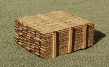 S-SCALE LUMBER LOAD 1-8'