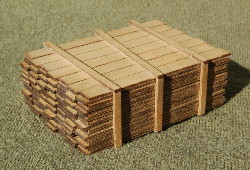 S-SCALE LUMBER LOAD 1-10'