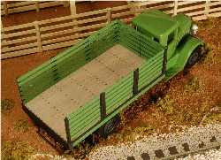 S-SCALE STAKE TRUCK BED