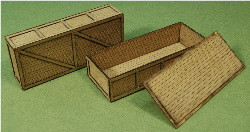A-SCALE PLANKED CRATE-5 2-PACK