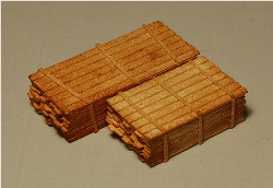 Z-SCALE LUMBER LOAD #3 (2x12) 2-PACK