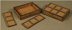 A-SCALE PLYWOOD CRATE-12 2-PACK