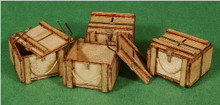 A-SCALE WOOD CRATE-12, 4-PACK