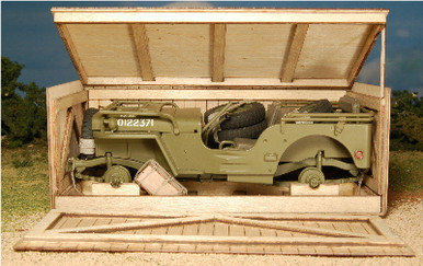 1:35-SCALE JEEP CRATE