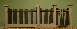 1:35 SCALE FENCE #1