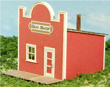 HO- SCALE GUN SHOP - OLD WEST SERIES #1
