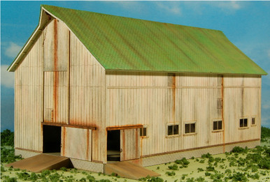 HO-SCALE BARN-2 ELF #7