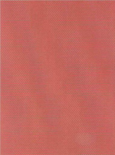 HO-SCALE BRICK SHEET HALF RED