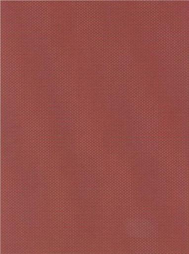 HO-SCALE BRICK SHEET QUARTER RUST-RED 2-PACK